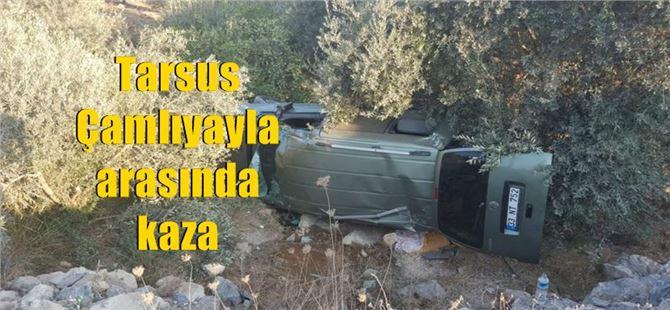 Tarsus-Çamlıyayla yolunda feci kaza