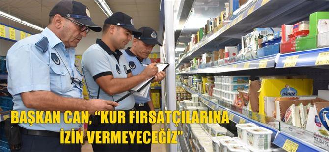 Tarsus'ta Zabıta'dan fahiş fiyatla satış yapan işletmelerin tespiti için denetim