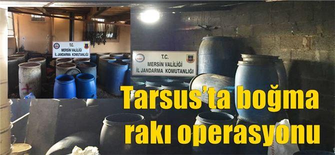 Tarsus'ta boğma rakı operasyonu
