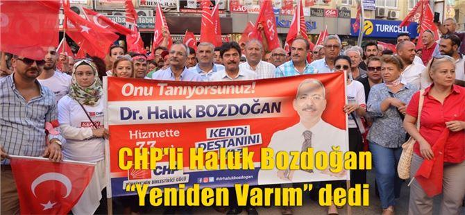 """Haluk Bozdoğan """"Yeniden Varım"""" dedi"""