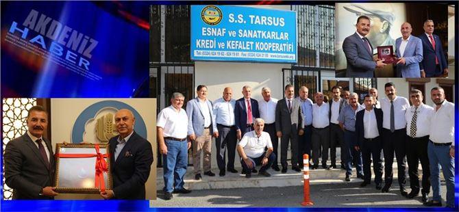 Hamit Tuna, Tarsus'ta ziyaretlerde bulundu