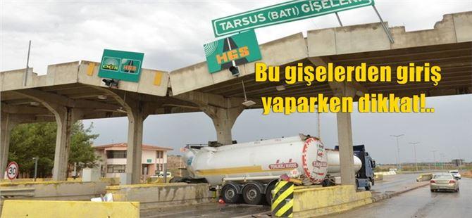 Tarsus'taki tanker kazası sonrası sürücüler otoyolda fazla ücret ödemeye başladı!