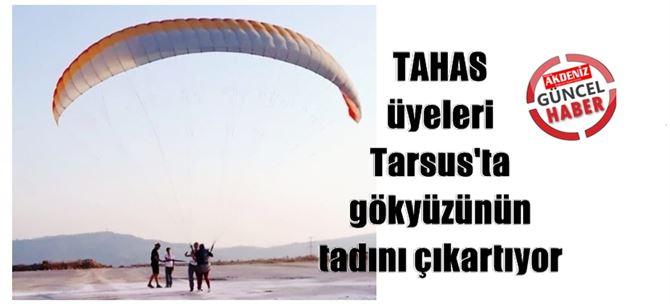 TAHAS üyeleri Tarsus'ta gökyüzünün tadını çıkartıyor