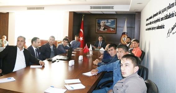 TSO'da, Özbekistan heyetiyle yatırımlar konuşuldu