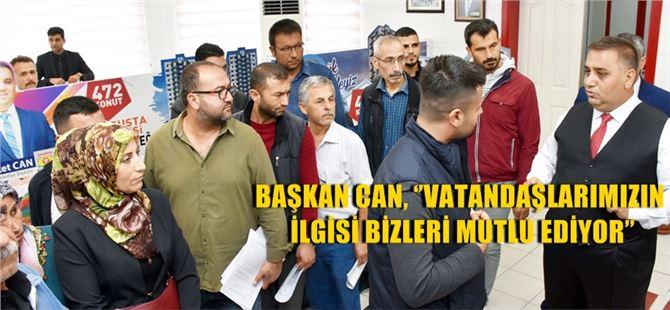 Tarsus Belediyesi toplu konut projesine yoğun ilgi