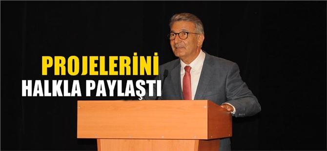 CHP'li Serdal Kuyucuoğlu, projelerini halkla paylaşıyor