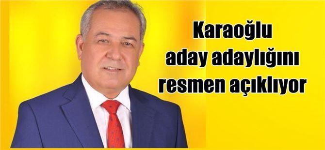 Mustafa Kemal Karaoğlu, aday adaylığını açıklıyor