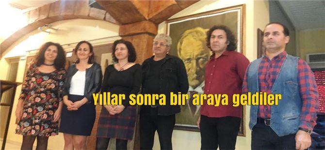 Tarsus'ta 'Organize Sanat' resim sergisi