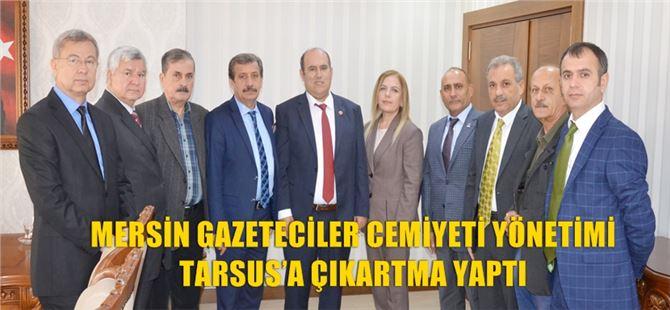 Mersin Gazeteciler Cemiyeti'nden Tarsus protokolüne ziyaretler