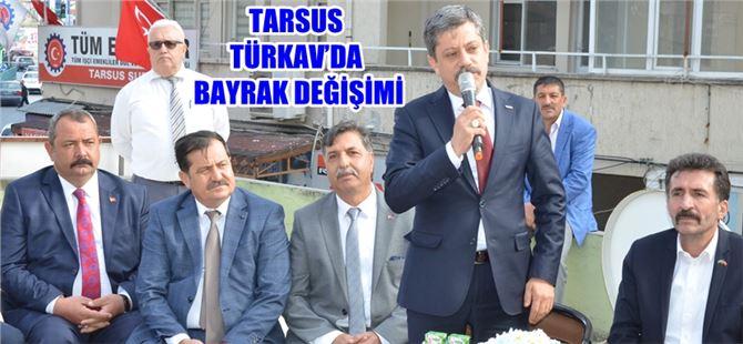 Özden Sarı, TÜRKAV Tarsus Şube Başkanı oldu