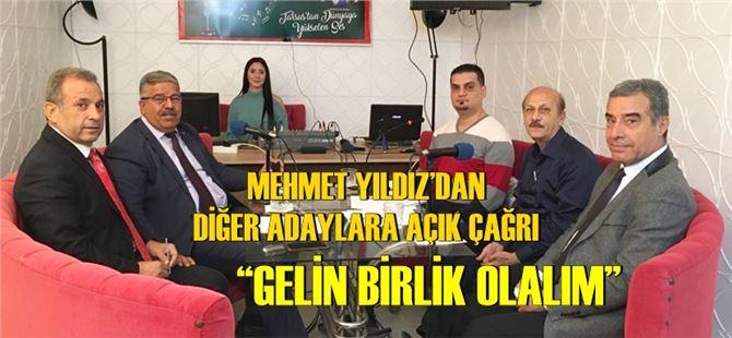 AK Partili Mehmet Yıldız'dan birlik çağrısı