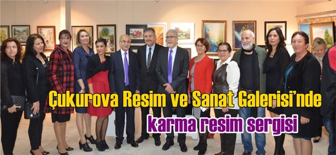 Tarsus'ta karma resim sergisi