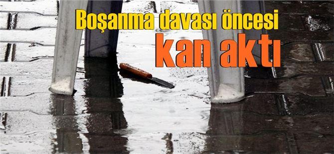 Mersin'de boşanma davası öncesi kavga: 1'i ağır 3 yaralı