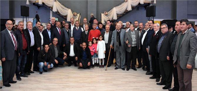Başkan Şevket Can'dan yıl sonu bilgilendirme toplantısı