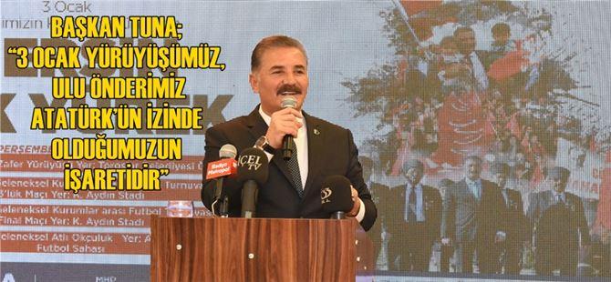 Mersin'de 3 Ocak Yürüyüşü hazırlıkları tamamlandı