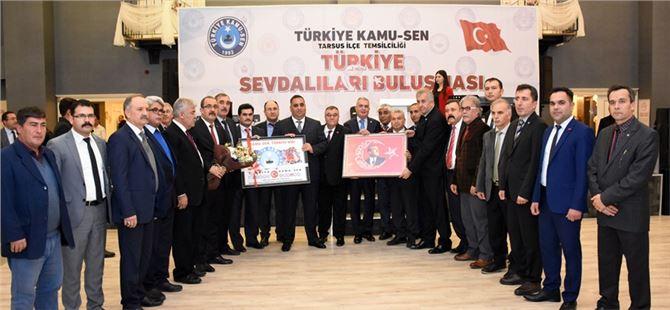 """Tarsus'ta """"'Türkiye Sevdalıları Buluşması"""""""