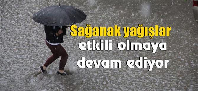Tarsus'ta yağışlar Salı gününe kadar etkili olacak