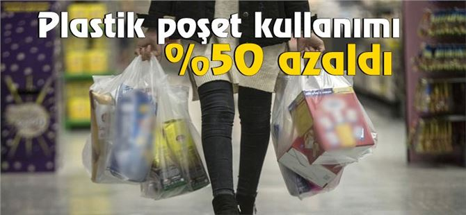 Plastik poşet uygulaması 4 günde %50 azaldı!