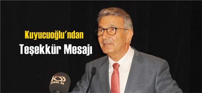 """Serdal Kuyucuoğlu'ndan """"Teşekkür"""" Mesajı"""