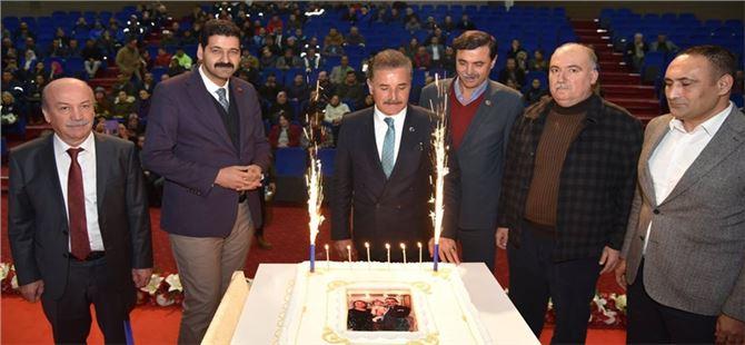 Personelinden, Başkan Tuna'ya doğum günü sürprizi