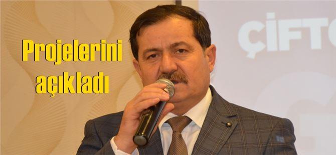 Abdullah Seki, Tarsus Ziraat Odası Başkanlığına resmen aday oldu