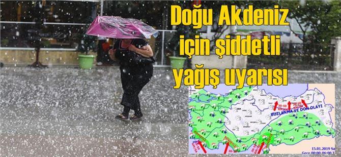 Mersin, Tarsus ve Adana için şiddetli yağış uyarısı