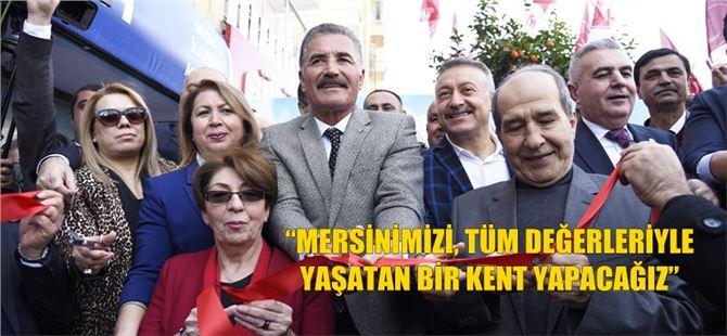 MHP'li Hamit Tuna, Akdeniz Seçim İletişim Merkezi'ni açtı