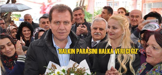 CHP'li Vahap Seçer, halkla buluşmaya devam ediyor
