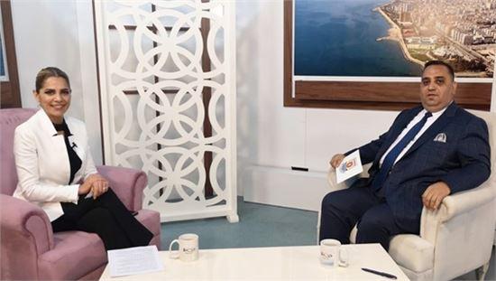 Başkan Can Kanal 33'e Canlı Yayın Konuğu Oldu