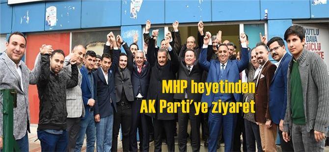 Ak Parti ilçe Başkanı Nevzat Çetin'e hayırlı olsun ziyaretleri