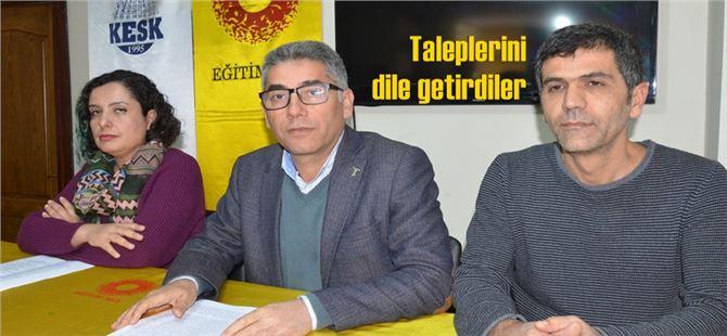 Tarsus'ta kurumlardan seçim önce ortak çağrı