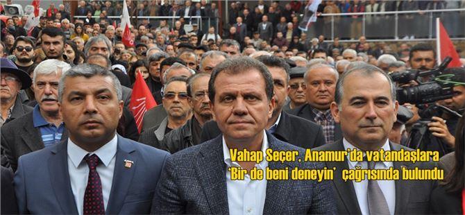 Vahap Seçer, Anamur'da Gövde Gösterisi Yaptı