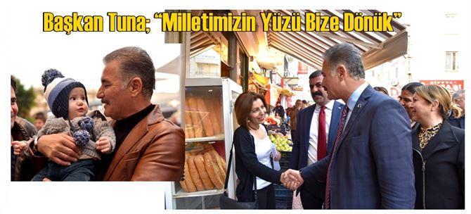 Hamit Tuna Yenişehir'de halkla buluştu