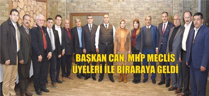 Başkan Can, MHP meclis üyeleriyle bir araya geldi