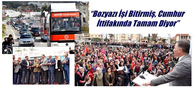 """Başkan Tuna; """"Aydıncık, Bozyazı ve Anamur'u turizmin cenneti yapacağız"""""""