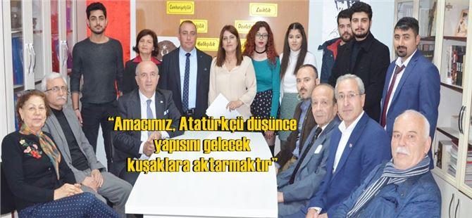 Gökhan Arkan başkanlığında Tarsus ADD'de yeni dönem çalışmaları başladı
