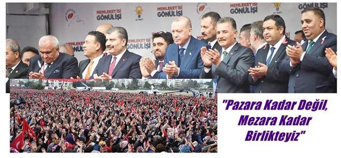 Cumhurbaşkanı Erdoğan Mersin'de konuştu