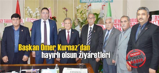 """TÜED'in """"Tarsus'a Emekliler İçin Sosyal Tesis Projesine"""" başkanlardan tam destek"""