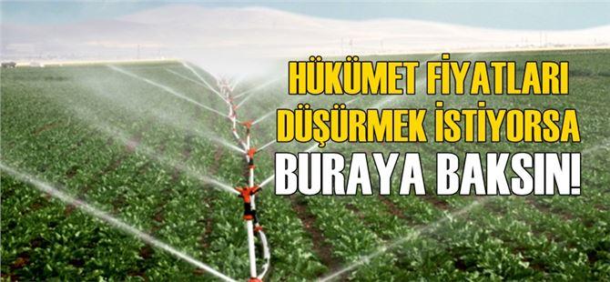 Sel ve hortumdan zarar gören çiftçiyi şimdi de sulama suyu fiyatları vuruyor!