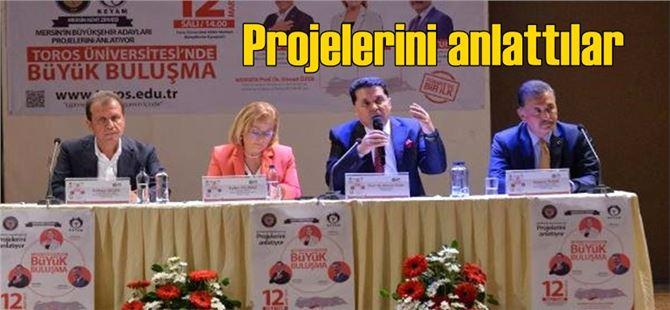 Ayfer Yılmaz, Vahap Seçer ve Hamit Tuna projelerini anlattı