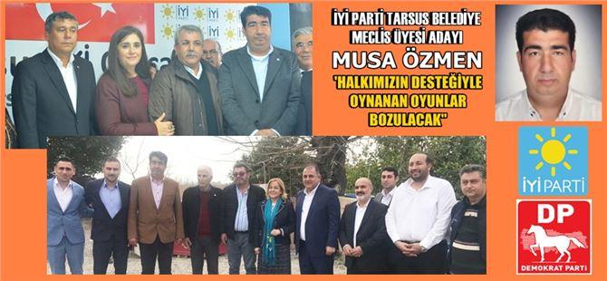 """Musa Özmen: """"Halkımızın desteğiyle Erkoç ve Yılmaz seçimleri kazanacak"""""""