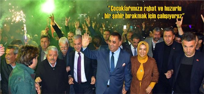 Başkan Can Şehitishak ve Ergenekon mahallelerinde coşkuyla karşılandı