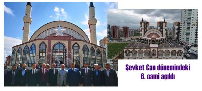 Tarsus'ta Ayyıldız Camii Törenle İbadete Açıldı