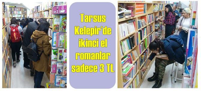 Tarsus Kelepir'de ikinci el romanlar sadece 3 TL