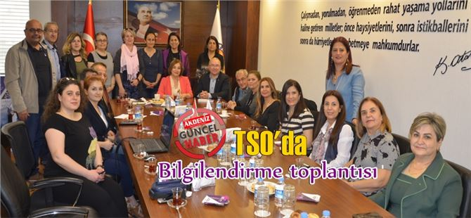 Tarsus TSO'da 18. Mersin Müzik Festivali bilgilendirme toplantısı