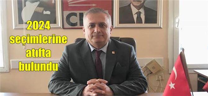 CHP ilçe Başkanı Ali İlk, yerel seçimleri değerlendirdi