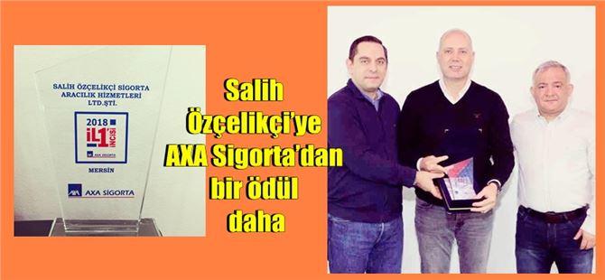 Salih Özçelikçi'ye AXA Sigorta'dan bir ödül daha