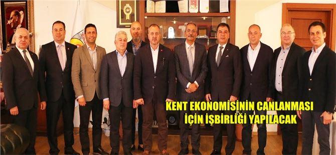 Tarsus TSO'dan Başkan Haluk Bozdoğan'a ziyaret