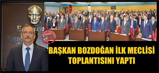 """Haluk Bozdoğan: """"Bu kenti el birliğiyle ayağa kaldıracağız"""""""