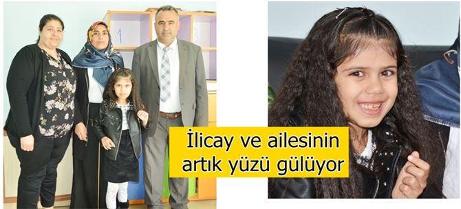 Van'da  Atipik Otizm tanısı konan İlicay, sağlığına Tarsus'ta kavuştu